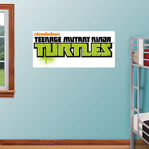 Teenage Mutant Ninja Turtles Logo Fathead Wall Decal