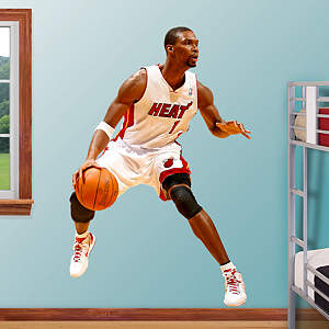 Chris Bosh Fathead Wall Decal