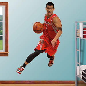 Jeremy Lin Fathead Wall Decal