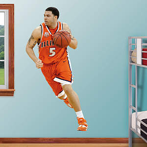 Deron Williams Illinois Fathead Wall Decal