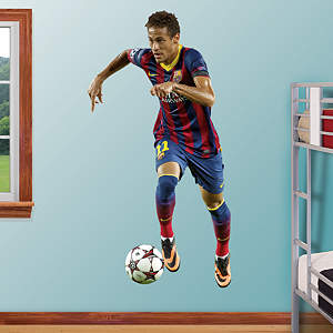 Neymar Fathead Wall Decal