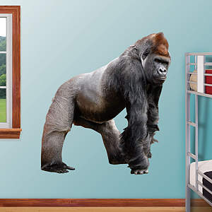 Gorilla Fathead Wall Decal
