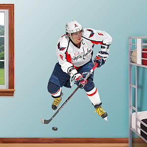 Alex Ovechkin - No. 8 Fathead Wall Decal