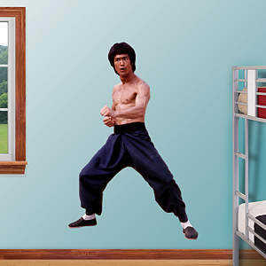 Bruce Lee Fathead Wall Decal