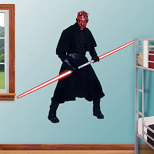 Darth Maul Fathead Wall Decal