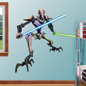 General Grievous - Clone Wars Fathead Wall Decal
