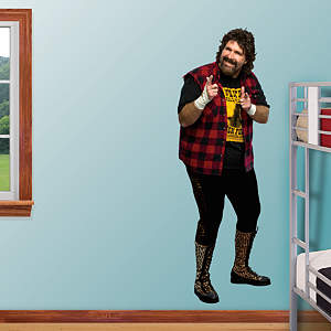 Mick Foley Fathead Wall Decal