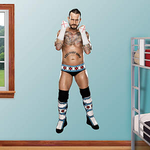 CM Punk Fathead Wall Decal