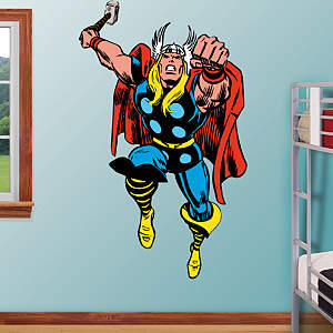 Classic Thor Fathead Wall Decal
