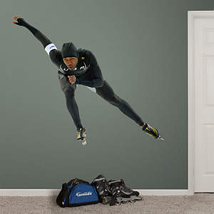 Shani Davis - Sochi Olympic Winter Games Fathead Wall Decal