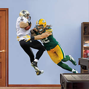 Clay Matthews Takes It On Fathead Wall Decal