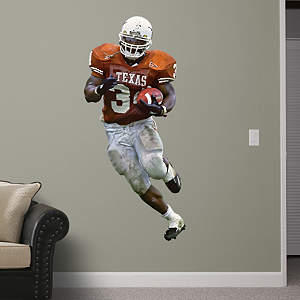Ricky Williams Texas Fathead Wall Decal