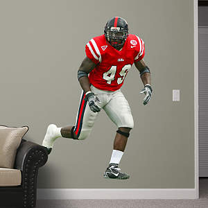 Patrick Willis Ole Miss Fathead Wall Decal