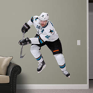 Patrick Marleau - No. 12 Fathead Wall Decal