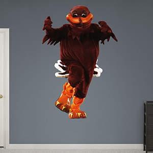 Virginia Tech Mascot - HokieBird Fathead Wall Decal