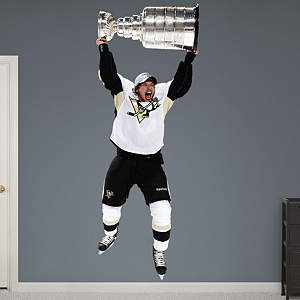 Sidney Crosby - Stanley Cup Fathead Wall Decal