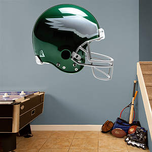 Philadelphia Eagles Throwback Helmet Fathead Wall Decal