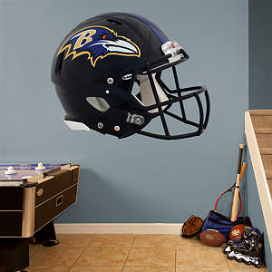 Baltimore Ravens Helmet Fathead Wall Decal