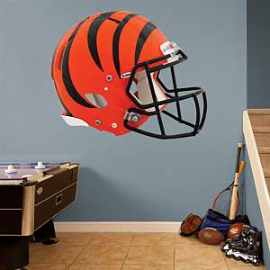 Cincinnati Bengals Helmet Fathead Wall Decal