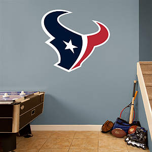 Houston Texans Logo Fathead Wall Decal