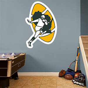 Green Bay Packers Classic Logo Fathead Wall Decal