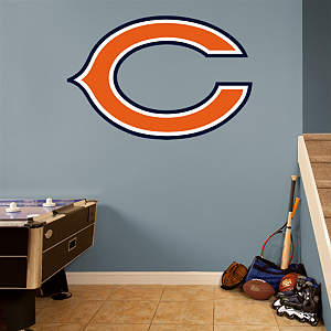 "Chicago Bears ""C"" Logo Fathead Wall Decal"
