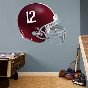 Alabama Crimson Tide Helmet Fathead Wall Decal