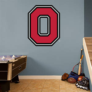 "Ohio State Buckeyes ""Block O"" Logo Fathead Wall Decal"