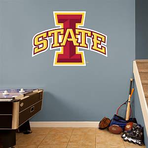 Iowa State Cyclones Logo Fathead Wall Decal