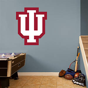 Indiana Hoosiers Logo Fathead Wall Decal