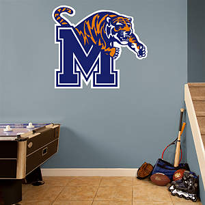 Memphis Tigers Logo Fathead Wall Decal