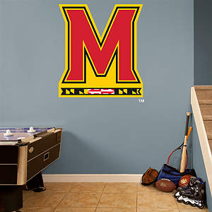 Maryland Terrapins Alternate Logo Fathead Wall Decal