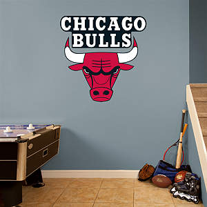 Chicago Bulls Logo Fathead Wall Decal