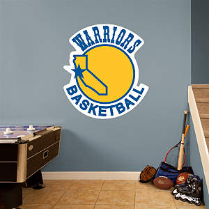 Golden State Warriors Classic Logo Fathead Wall Decal