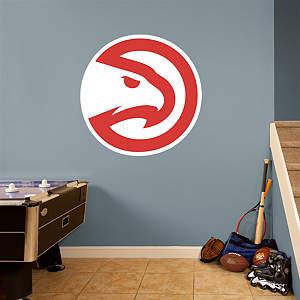 Atlanta Hawks Alternate Logo Fathead Wall Decal