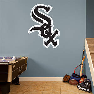 Chicago White Sox Logo Fathead Wall Decal