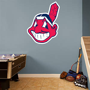 Cleveland Indians Alternate Logo Fathead Wall Decal