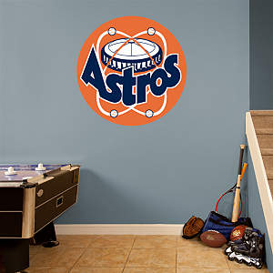 Houston Astros Classic Logo Fathead Wall Decal