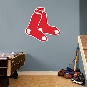 Boston Red Sox Logo Fathead Wall Decal
