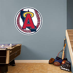 Angels Classic Logo Fathead Wall Decal