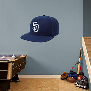 San Diego Padres Cap Fathead Wall Decal