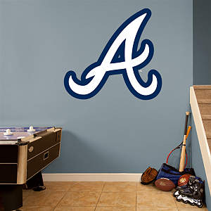 Atlanta Braves Alternate Logo Fathead Wall Decal