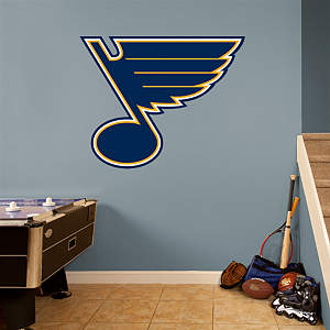 St. Louis Blues Logo Fathead Wall Decal