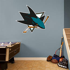 San Jose Sharks Logo Fathead Wall Decal