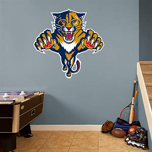 Florida Panthers Logo Fathead Wall Decal