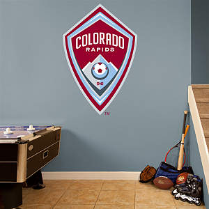 Colorado Rapids Logo Fathead Wall Decal