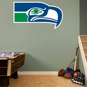 Seattle Seahawks Classic Logo Fathead Wall Decal