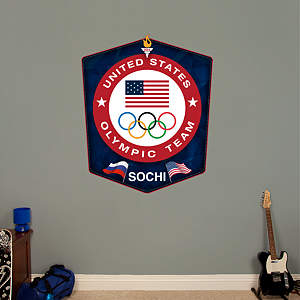 US Olympic Team Logo - Sochi Fathead Wall Decal