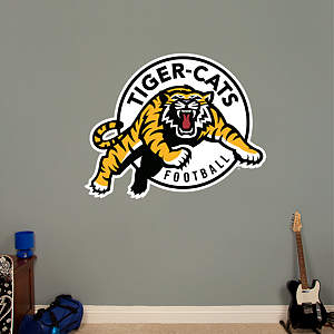 Hamilton Tiger-Cats Logo Fathead Wall Decal
