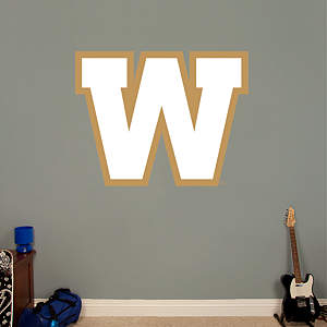 Winnipeg Blue Bombers Logo Fathead Wall Decal